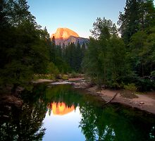 Half Dome mirrored by Gianni Cicalese