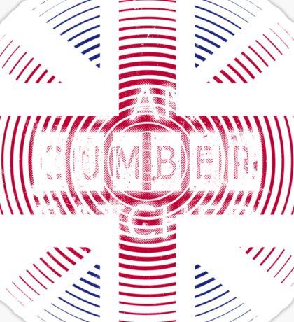I AM CUMBERBATCHED (UK Edition) Sticker