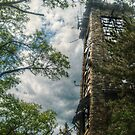 Side view of Ryecliff Lookout Tower by Jane Neill-Hancock