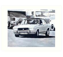 'The Sweeney' Ford Granada 3.0 Ghia Art Print