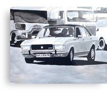'The Sweeney' Ford Granada 3.0 Ghia Metal Print