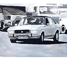 'The Sweeney' Ford Granada 3.0 Ghia Photographic Print