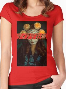 Japan/Mexico Women's Fitted Scoop T-Shirt