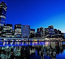 Melbourne by the Yarra by joeferma