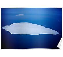 Antarctic ice Poster
