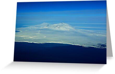 Mt. Erebus, Antactica by joeferma