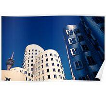 Gehry in Düsseldorf Poster