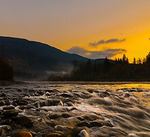 Mountain stream by RevelstokeImage