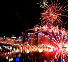 Darling Harbour fireworks by joeferma