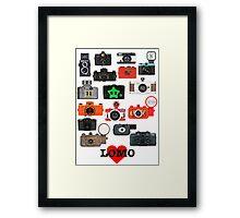 LOMO Framed Print