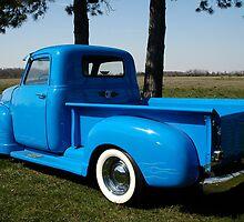 1950 Chevrolet Pick Up Baby Blue by Randy Branham