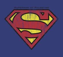 Superman of Palestine by darweeshq