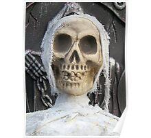 Creepy Skulled Mummy Poster