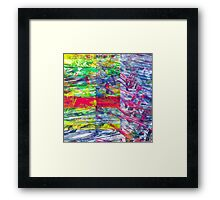 Conversations about gratitude for inherited modes. Framed Print