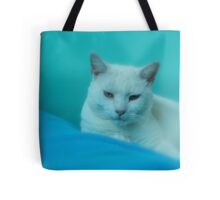 THROW PILLOW FOR CAT LOVERS Tote Bag
