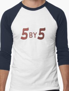 5 by 5 Men's Baseball ¾ T-Shirt