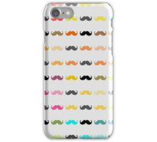 Funny Girly Mustache iPhone Case/Skin