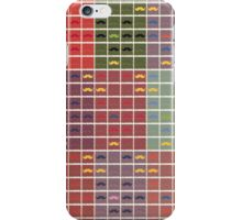 Funny Girly Mustache 3 iPhone Case/Skin