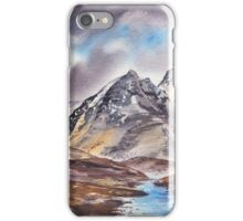 Dramatic Landscape With Mountains iPhone Case/Skin