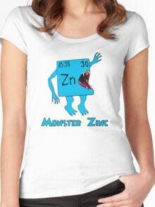 Monster Zinc Women's Fitted Scoop T-Shirt