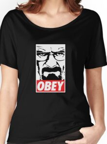 Obey Heisenberg Women's Relaxed Fit T-Shirt