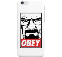 Obey Heisenberg iPhone Case/Skin