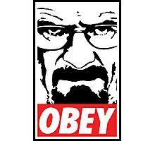 Obey Heisenberg Photographic Print