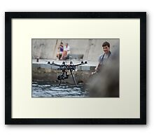 Arial Photography Framed Print