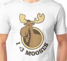 I Heart Mooses Tee Unisex T-Shirt