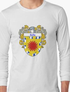 Solis Coat of Arms/Family Crest Long Sleeve T-Shirt