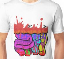 cut the dotted line for a prize Unisex T-Shirt
