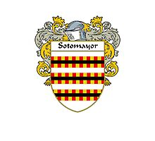 Sotomayor Coat of Arms/Family Crest Photographic Print