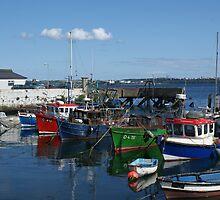 Dingle Bay Ireland by DES PALMER