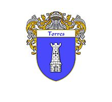 Torres Coat of Arms/Family Crest Photographic Print
