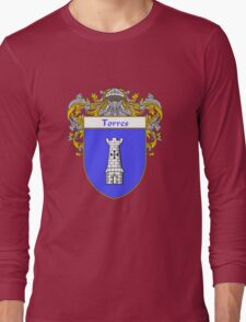 Torres Coat of Arms/Family Crest Long Sleeve T-Shirt