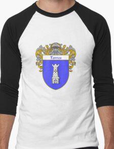 Torres Coat of Arms/Family Crest Men's Baseball ¾ T-Shirt