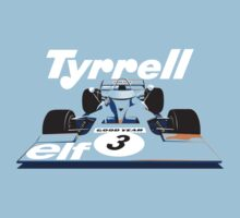Tyrrell 001 Formula 1 Kids Clothes