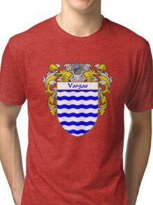 Vargas Coat of Arms/Family Crest Tri-blend T-Shirt