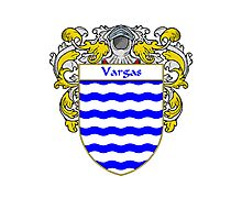 Vargas Coat of Arms/Family Crest Photographic Print