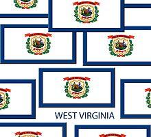 Smartphone Case -  State Flag of West Virginia 10 by Mark Podger