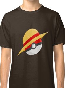 Pokeball and Luffy's hat Classic T-Shirt