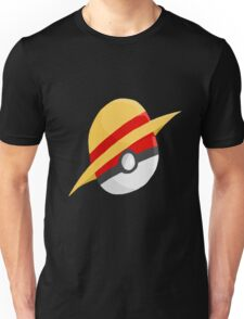 Pokeball and Luffy's hat Unisex T-Shirt