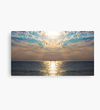 Mirror Beach Canvas Print