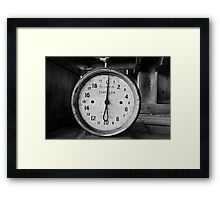 Weight for It Framed Print