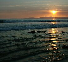 Rossnowlagh Sunset by Adrian McGlynn