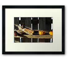 Tis' of the Season Framed Print