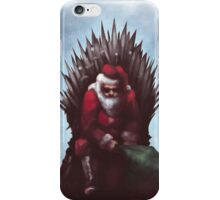Christmas is Coming - Game of Thrones  iPhone Case/Skin