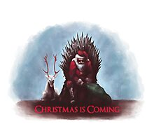 Christmas is Coming - Game of Thrones  Photographic Print