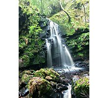 Sloughan Glen Waterfall Photographic Print