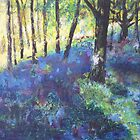 In the Bluebell Woods  by Madeleine  Badger